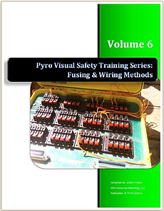 Fireworks Pyrotechnics Training Course Manual Books