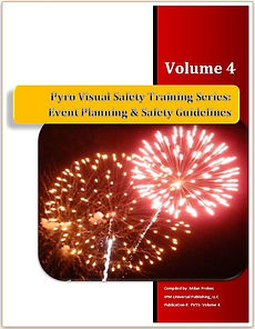 Fireworks Pyrotechnics Training Course Manual