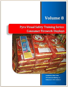 Pyrotechnics Fireworks Training Course Manuals