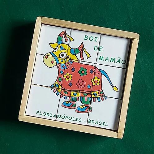 Quebra Cabeça Boi de Mamão