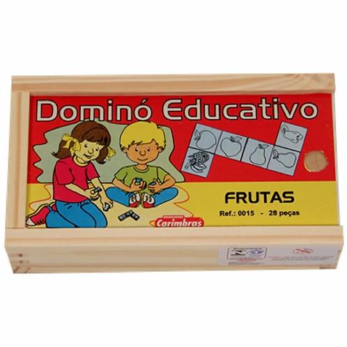 Dominó Educativo - Frutas