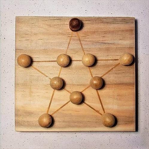 Kaooa e Estrela Matemática
