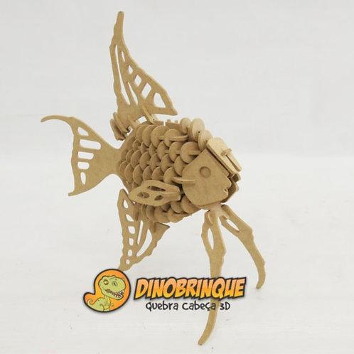 Peixe - Quebra Cabeça 3D