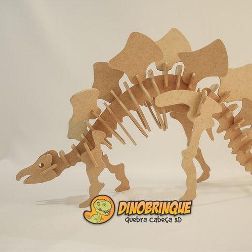 Estegossauro - Quebra Cabeça 3D