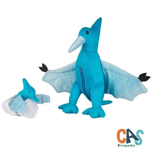 Pterossaura com filhote