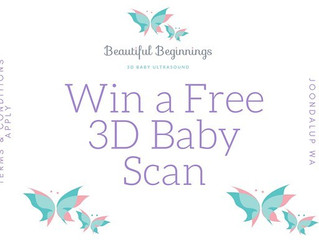 WIN a 3D Baby Scan!