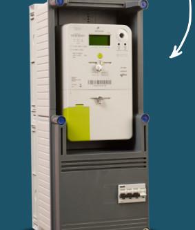 Ook Digitale meter kan terugdraaien