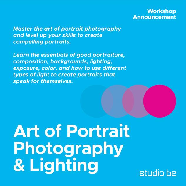 Art of Portrait Photography & Lighting