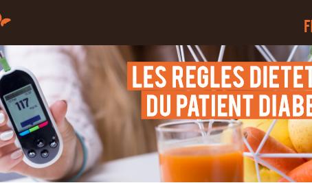 Les règles diététiques du patient diabétique