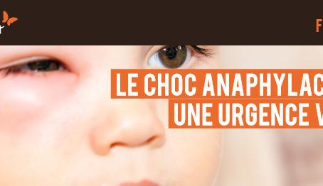 Le choc anaphylactique: une urgence vitale