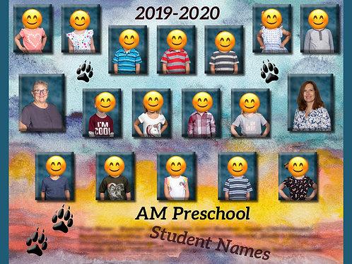 AM Preschool Class Photo