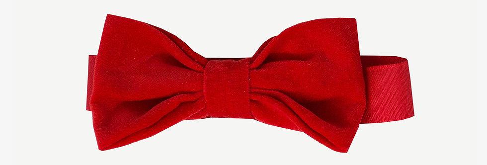 Velvet Tuxedo Bow Tie