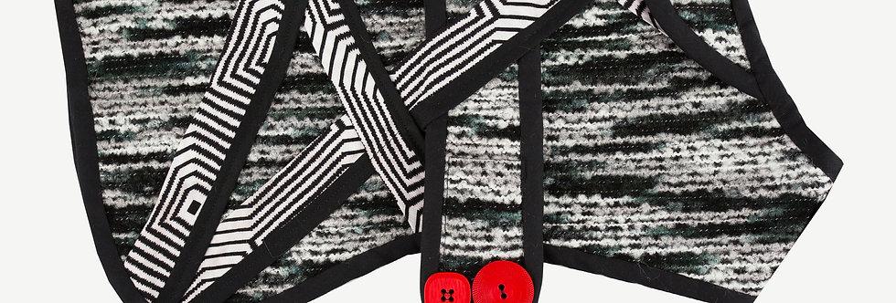 Bespoke Striped Dog Coat