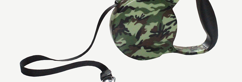 Camouflage Extendable Dog Lead