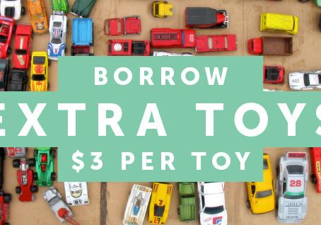 Borrow Extra Toys over Christmas