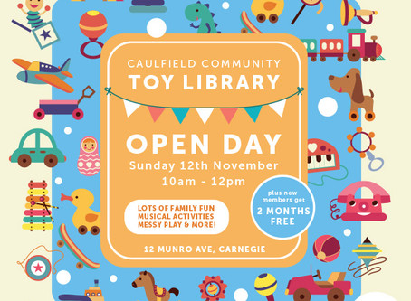 Come to our Stay & Play Day!