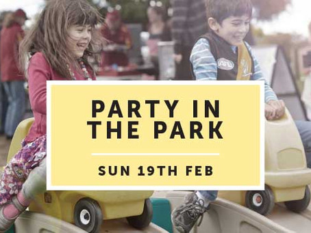 Party in the Park - Volunteers Needed