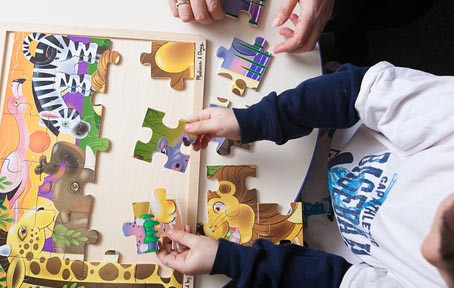 The benefits of puzzles in early childhood development