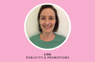Meet Lisa - Our PR Coordinator