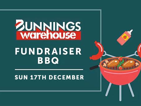 December Bunnings BBQ Fundraising Event
