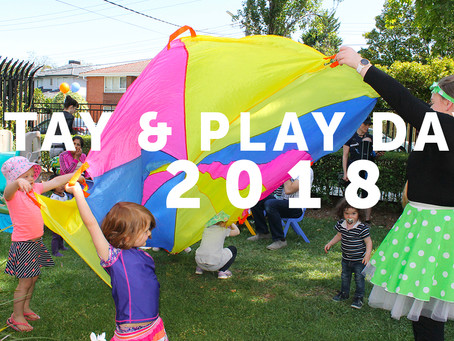 Did we see you at our Stay & Play Day?
