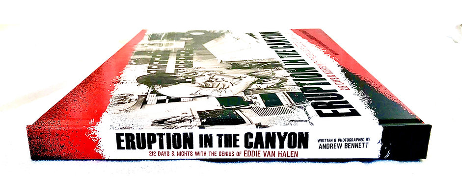 Eruption in the Canyon:   212 Days and Nights with the Genius of Eddie Van Halen
