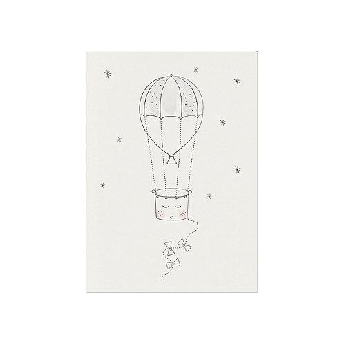 A4 Balloon Poster