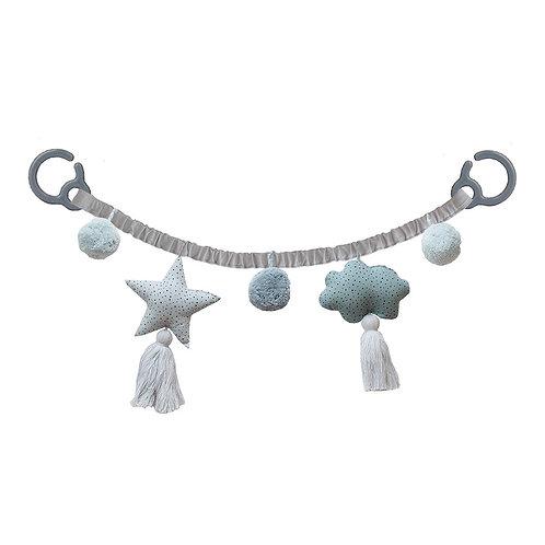 Pram Chain - Grey/Ocean
