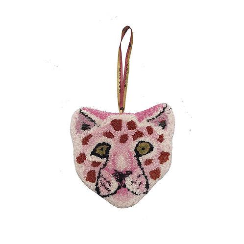 Pinky Leopard Rug Hanger