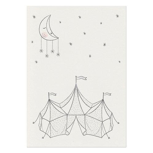 A3 Circus Poster