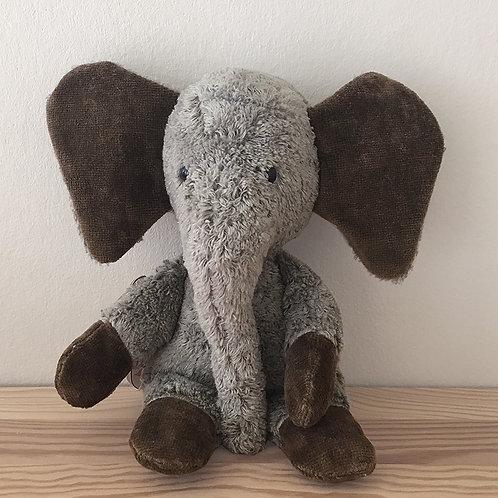 Kallisto Elefant, Grå 24 cm