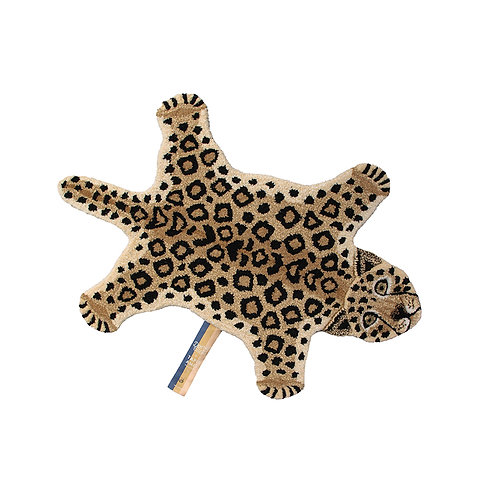 Leopard Rug Small