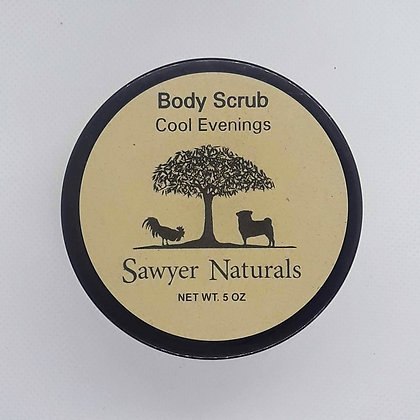 Body Scrub - Cool Evenings