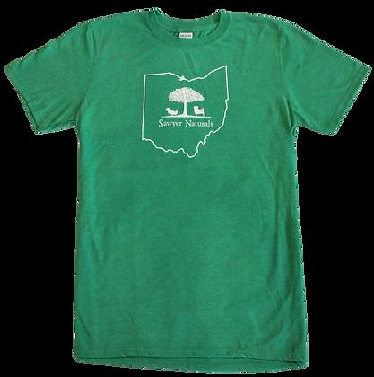 Sawyer Naturals T-Shirt Green