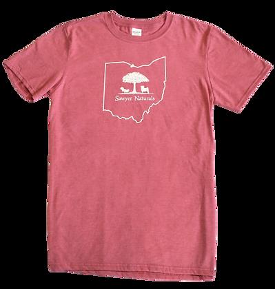 Sawyer Naturals T-Shirt Red