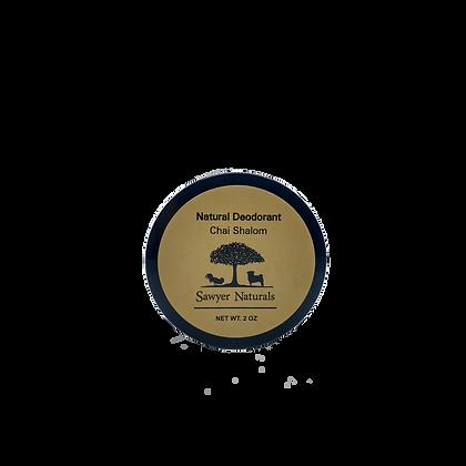 Natural Deodorant- Chai Shalom