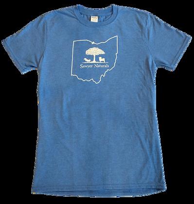 Sawyer Naturals T-Shirt Blue