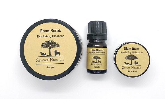 Sample 3 Step Skin Care Package