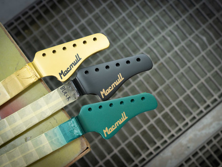Stinger Headstock Finish Options