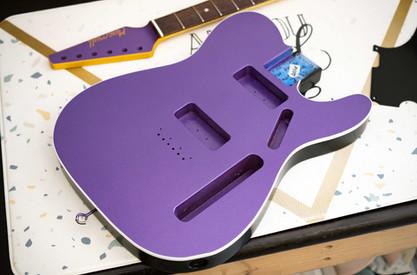 Heartbreaker P90's in Purple Blast