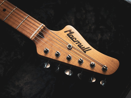 The New Americana Headstock Design