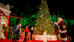 """""""Feliz Navidad"""" Presidencia de El Salvador."""
