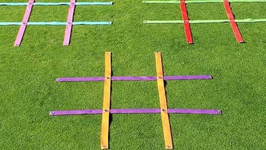 3 foot Golf Tic Tac Golf Grid  12 colors to choose from mix and match  . Easy to install easy to take down  great for distanc