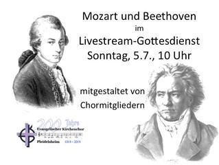 Mozart und Beethoven