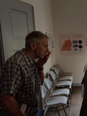 Besuch der ehem. Synagoge in Affaltrach