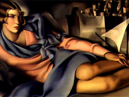 Portrait of Arlette Boucard (1928), Tamara de Lempicka's modern day Venus of Urbino