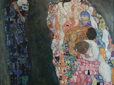 Pessimism and Expectation Behind the Sensual Pleasure – Death Paintings by Gustav Klimt
