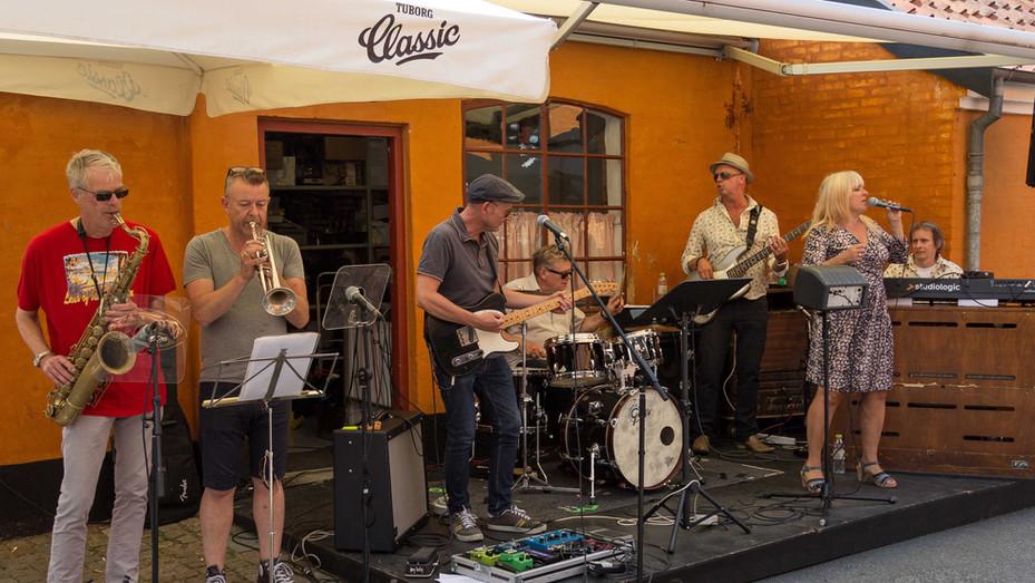 Mama's Blues Joint in Køge, Hugo's Gård, Photo by Svend Levandowski