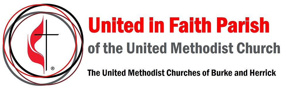 church logo, United Methodist Church, United in Faith UMC