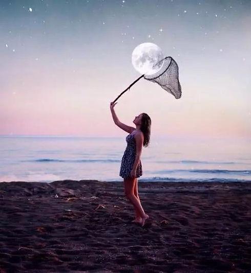 lady netting the moon.JPG